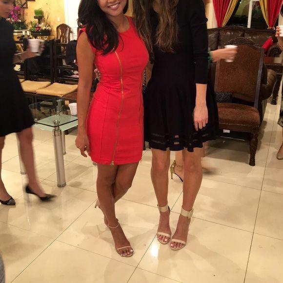 🎉💋💕Host Picks💕👠Ted Baker Dress Ted Baker Red Dress - TED SIZE 1, US size 4. 🙅🏻NO TRADE🙅🏻 Ted Baker Dresses Mini
