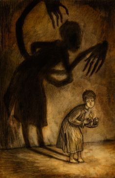 464 best Dark, Disturbing, & oddly Beautiful (Art) images ...  |Disturbing Dark Scary