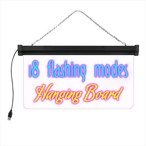 T2 Neon LED Writing Board