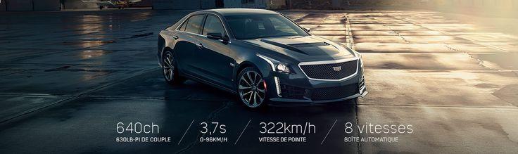 La Berline Sport de Luxe Cadillac CTS-V 2017.