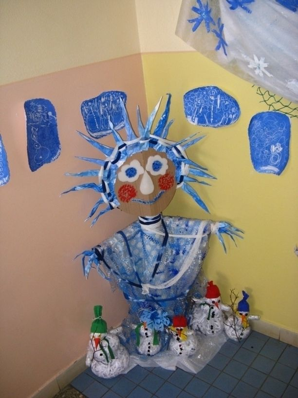 Paní Zima - Kreativní inspirace