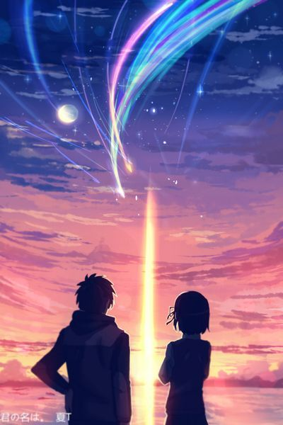 It is never too late to fall in love.Tachibana Taki and Miyamizu Mitsuha from your name anime #cosplay #love #yourname #costume #anime