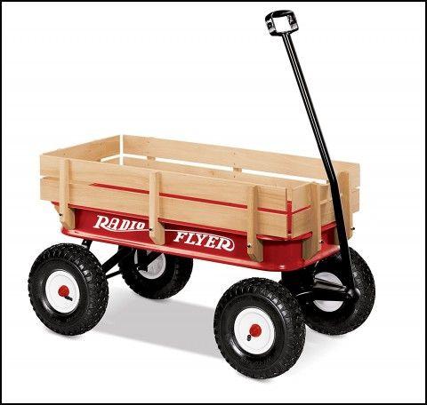 Radio Flyer Wagon Big Wheels