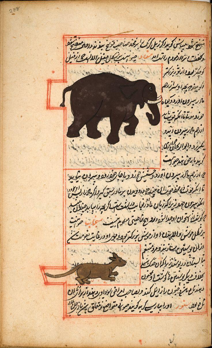 Zakarīyā ibn Muḥammad al-Qazwīnī: 'Ajā'ib al-makhlūqāt wa-gharā'ib al-mawjūdāt (Marvels of Things Created and Miraculous Aspects of Things Existing)