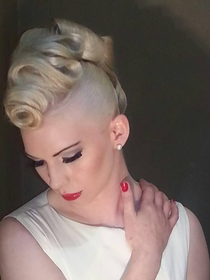Avant Garde Mohawk Wedding Hair Style By Cathriona Rohan