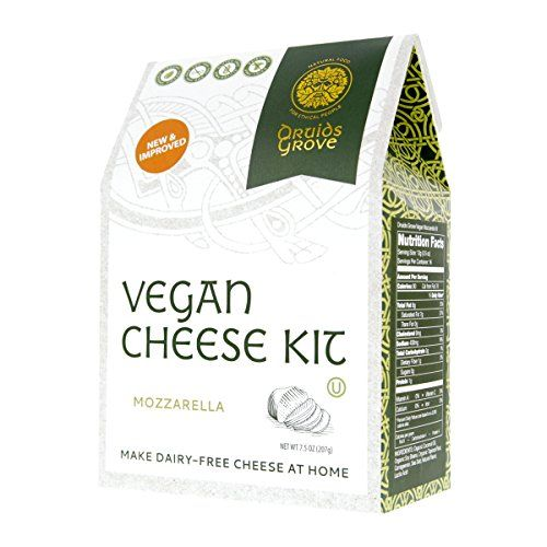 Druids Grove Vegan Mozzarella Kit Nondairy Cheese Veg Https Www Amazon Com Dp B019d00v8i Ref Cm Sw Vegan Mozzarella No Dairy Recipes Dairy Free Cheese