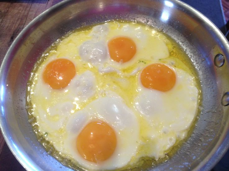 Eggs, eggs, eggs!!! These are fried in butter - YUMMO!  I would always have this with steamed vegies and some fermented veg.  #rocketfuelonanbudget #joannarushton #healthyrecipes #healthybreakfast #eggs #organic #healthychoices #nutritioncoach #energycoachinginstitute For more information on Joanna Rushton or her book 'Rocket Fuel On A Budget' visit http://energycoachinginstitute.com/