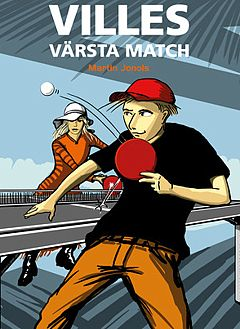 Illustration and cover design.  Kidsbook boys 9-12 in Sweden. For reluctant readers and Swedish publisher