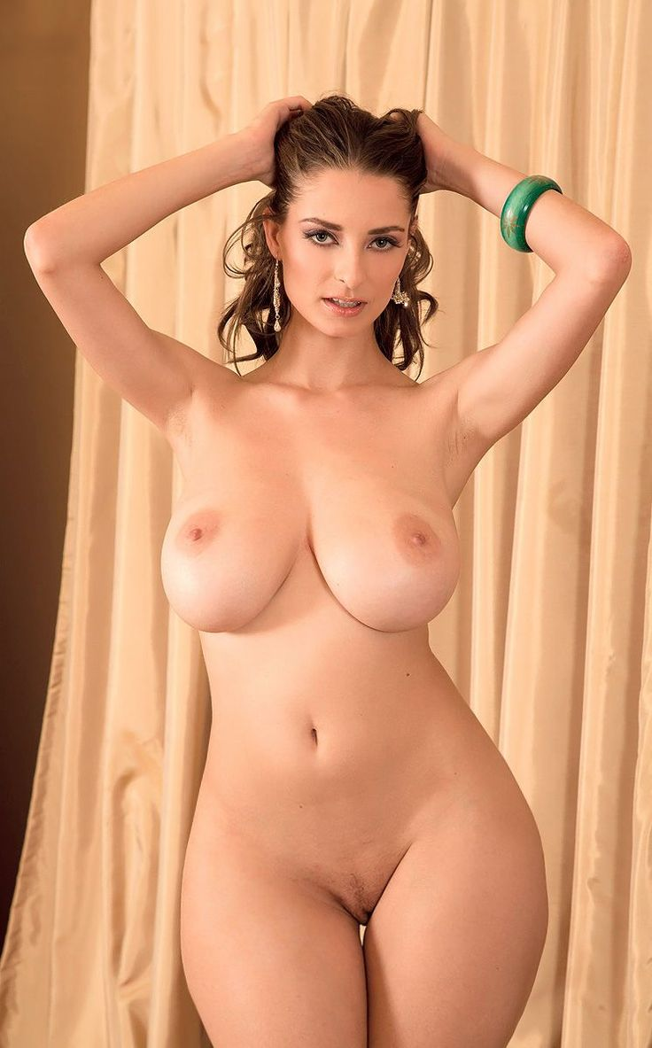 Naked Latina Lady Standing