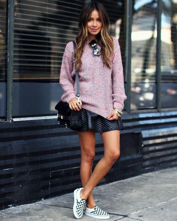 julie-sarinana-saia-sueter-rosa-tenis-look-inverno