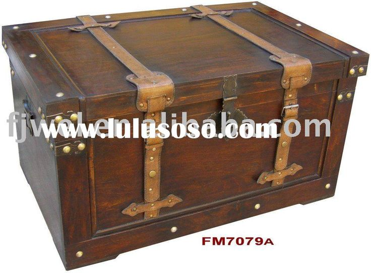 wooden steamer trunk old trunk vintage trunk antique storage trunk