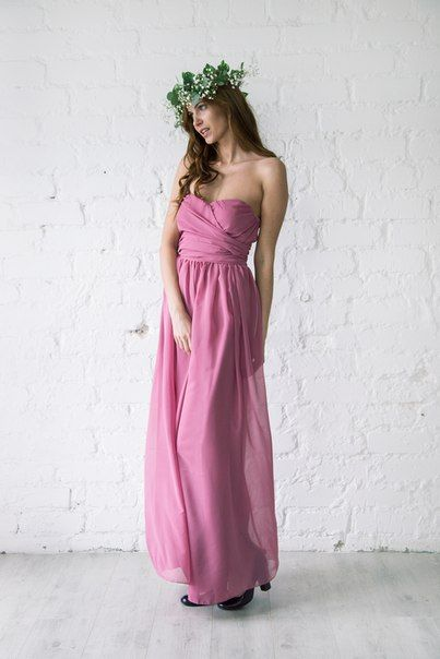 Платья подружек невесты BRIDES TEAM!