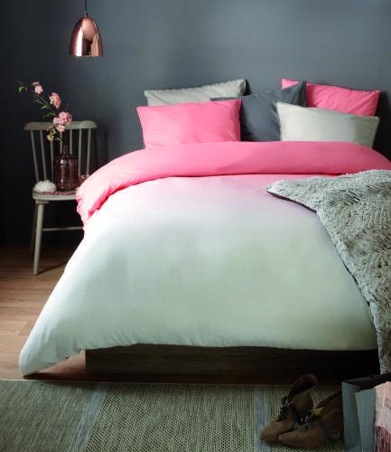 Chambre Romantique rose, blanche et grise - BUT