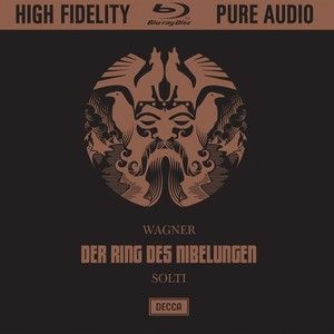 WAGNER Ring des Nibelungen / Solti - 1 Blu-ray Audio - Decca Classics