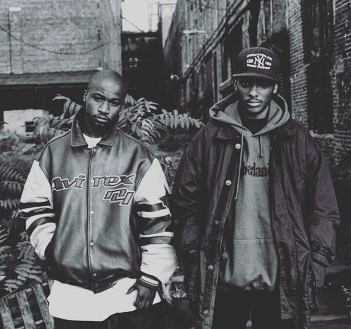 Mobb Deep (Havoc and Prodigy) RIP Prodigy one of my first rap loves heavy heart today , very sad day