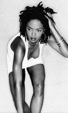 "lauryn hill - just wish her lyrics weren't so sex negative. ""Don't be a hard rock when you're really a gem"" nahhh. go hard girls"