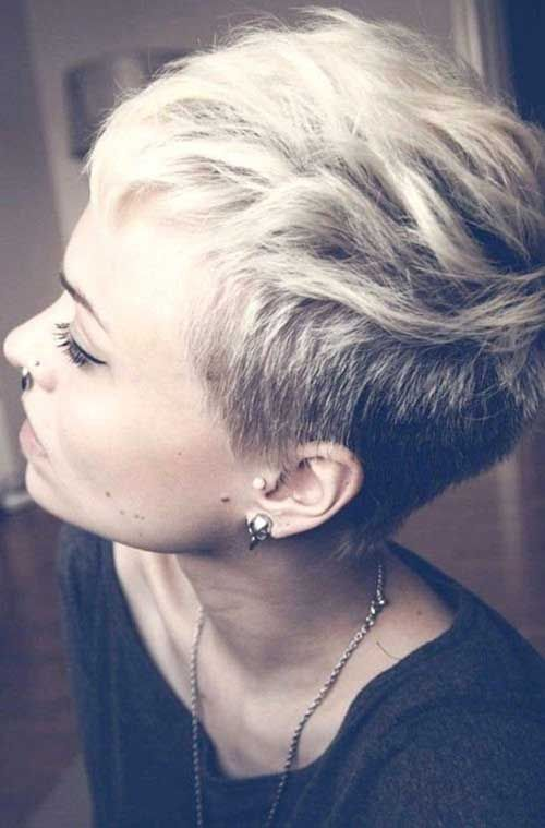 Funky Short Pixie Haircuts                                                                                                                                                                                 More