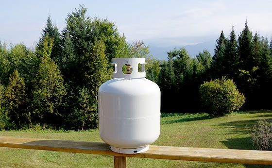 how to tell when to refill propane