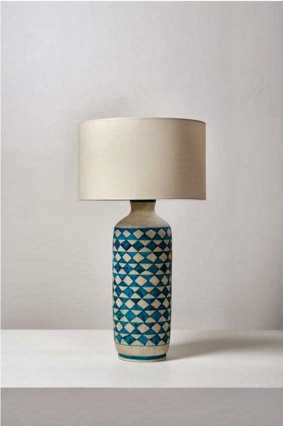 Guido Gambone Glazed Ceramic Lamp 1950s Stuff To Live