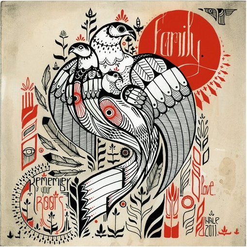 David Hale is een tattoo artist uit Athens, Georgia in de Verenigde Staten. Haast al zijn werk bestaat uit dieren. Hij is naast tattoo artist ook grafisch ontwerper en dat is duidelijk terug te vinden in zijn tatoeages. Hij portretteert het dierenrijk en de pracht ervan op een strakke doch sierlijke manier. Veel verschillende patronen en het gebruik van maximaal 2 kleuren per tattoo, maken al zijn werk een geheel. Autonoom.