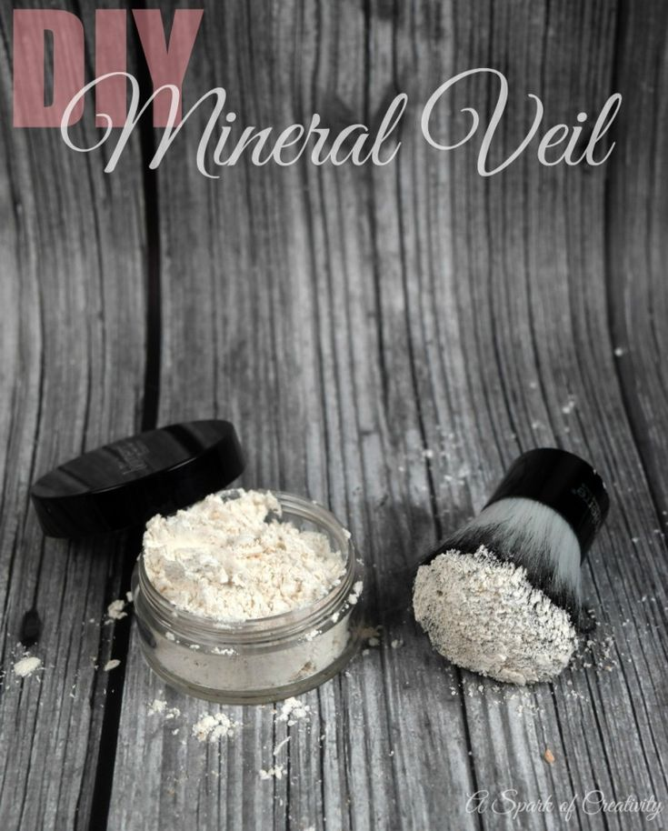 DIY Mineral Veil Translucent Powder for under $2.00 - A Spark of Creativity