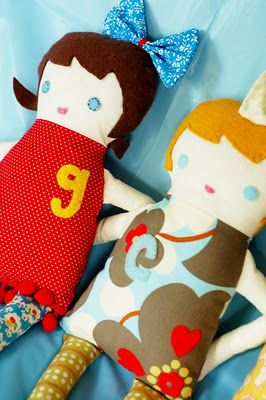 Free sew yourself doll pattern.