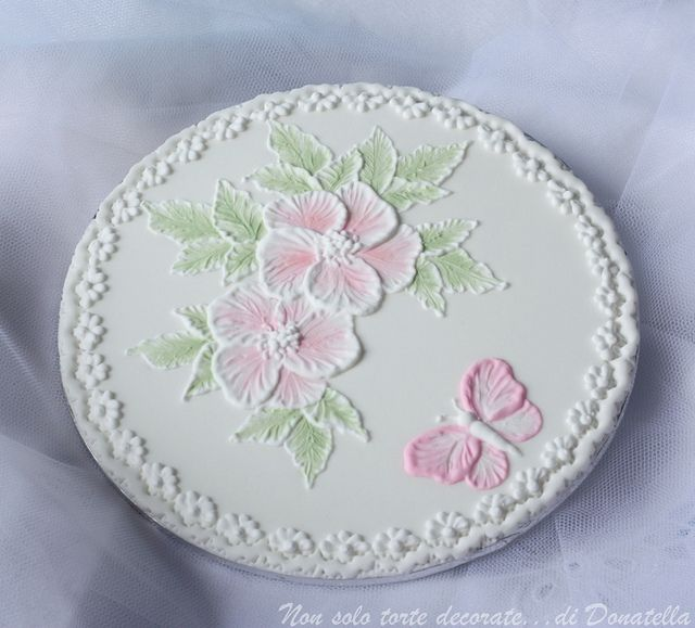 Brush Embroidery plaque by semalo63, via Flickr