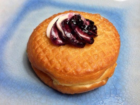 Blueberry Cheesecake Croissant Donut (not really a Cronut
