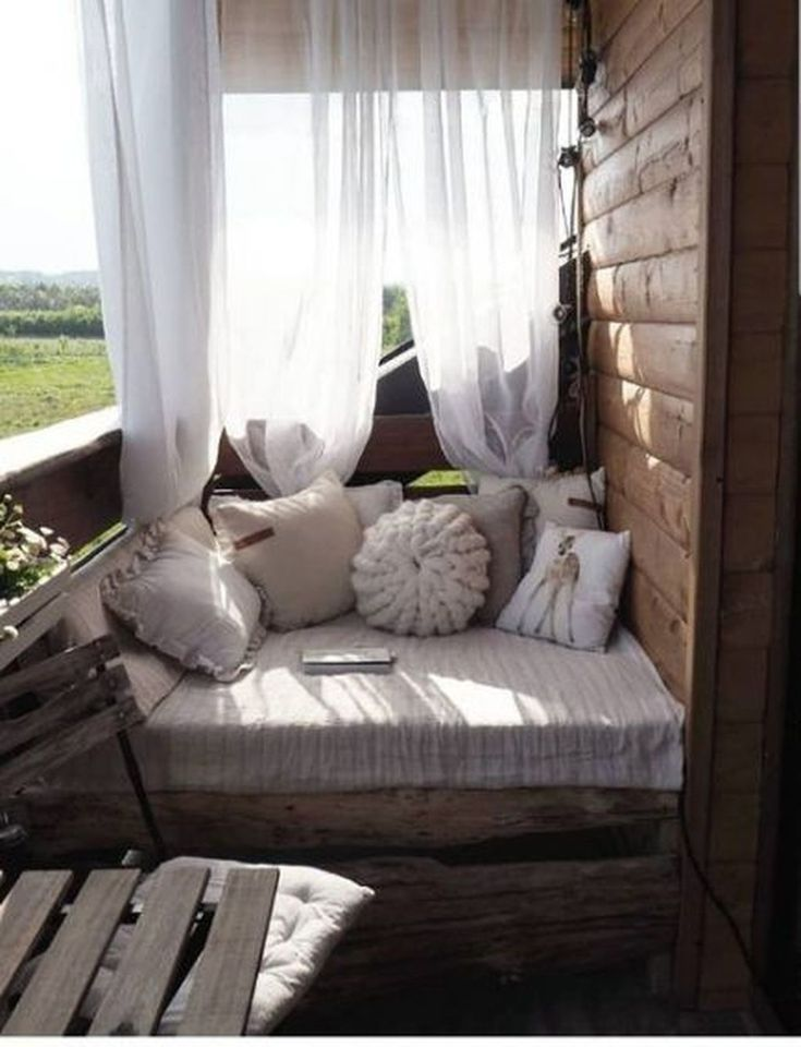 Nice 35 Cool Farmhouse Balcony Design Ideas You Will Definitely Want To Try. #