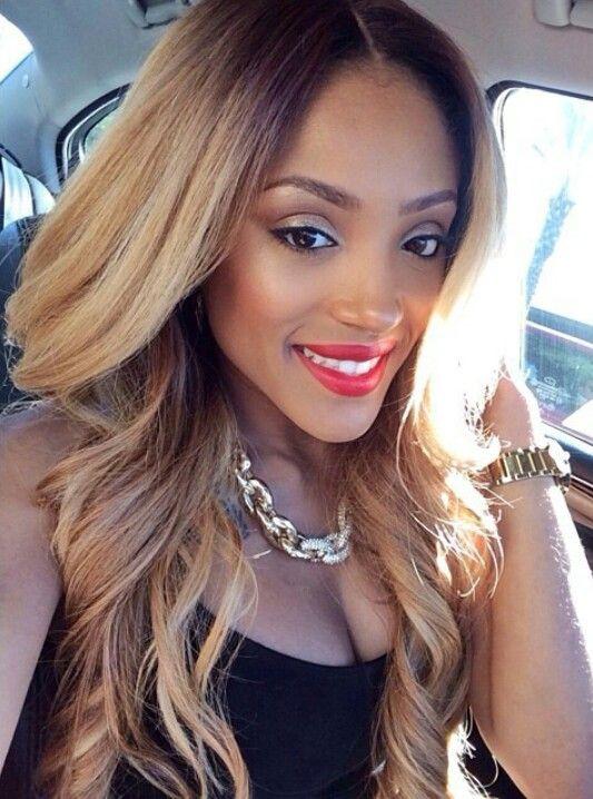 Blonde Weave Rockin Hairstyles Pinterest Colors