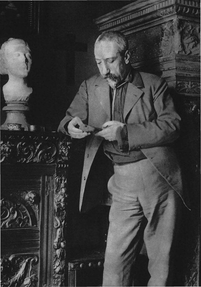 Anatole France (1844-1924), French poet, journalist and novelist. Un des modèles pour Bergotte