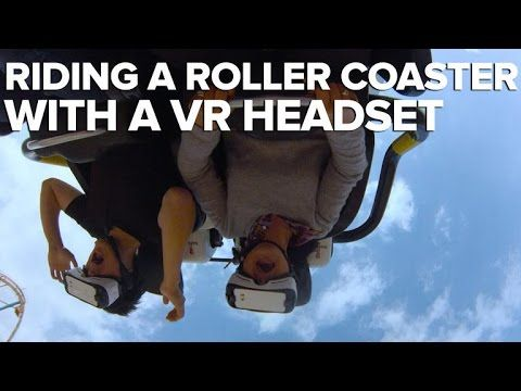 Watch what happens when you ride a VR roller coaster - http://eleccafe.com/2016/04/07/watch-what-happens-when-you-ride-a-vr-roller-coaster/