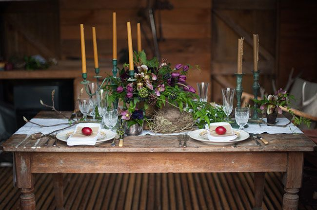 Rustic Winter Wedding Inspiration | Green Wedding Shoes Wedding Blog | Wedding Trends for Stylish + Creative Brides