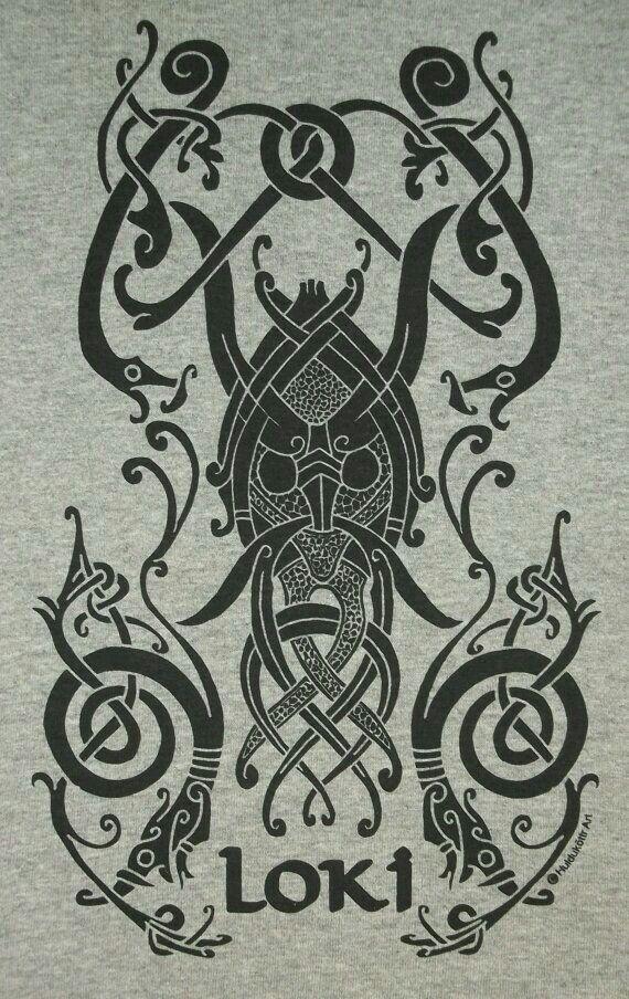 Loki Gott Symbol