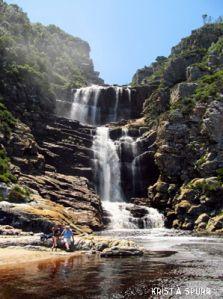South Africa Tsitsikamma park Waterfall Trail.