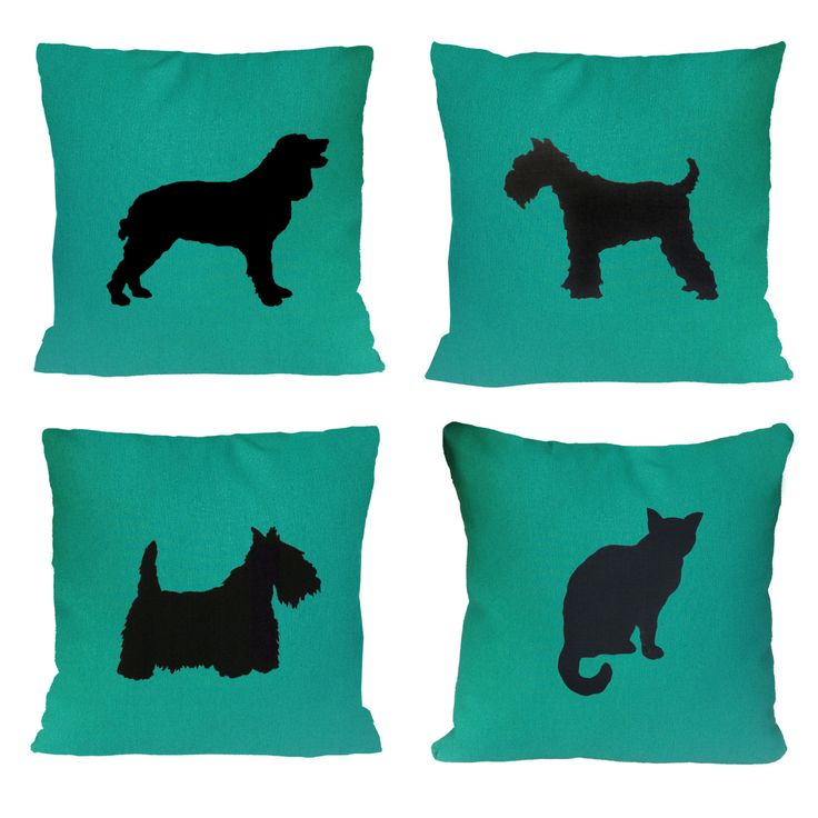 Green St Patricks Day Animal Cushion Cover by animalsandbirds on Etsy