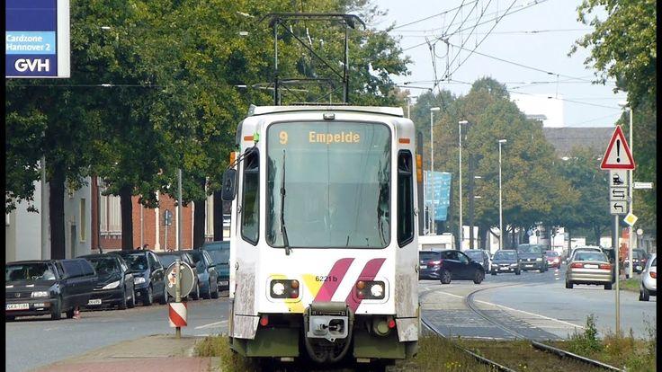 Linie 9 Hermann-Ehlers-Allee (Stadtbahn Hannover) - YouTube