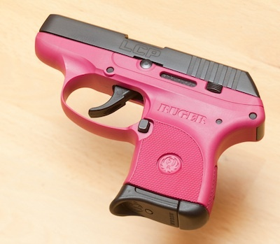 Pink Ruger....I think so Find our speedloader now! http://www.amazon.com/shops/raeind