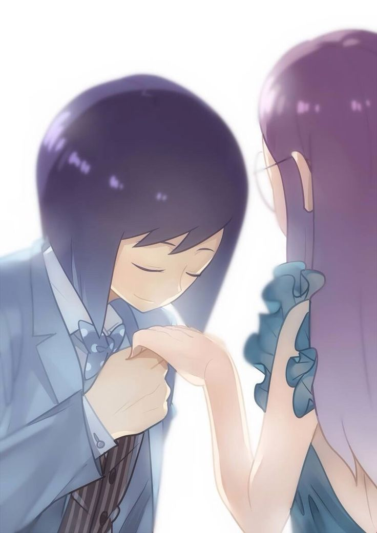 Digimon Adventure 02 - Love: Ken Ichijouji and Yolei (Miyako) Inoue at the prom