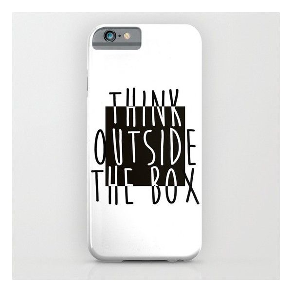 Quote iPhone 6s Case ($35) ❤ liked on Polyvore featuring accessories, tech accessories, phone cases and iphone & ipod cases