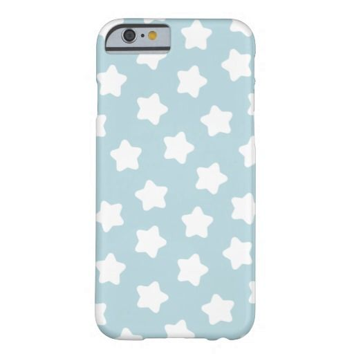 Cute Baby Blue Star Pastel -Colored iPhone 6 & Samsung Galaxy Phone Case