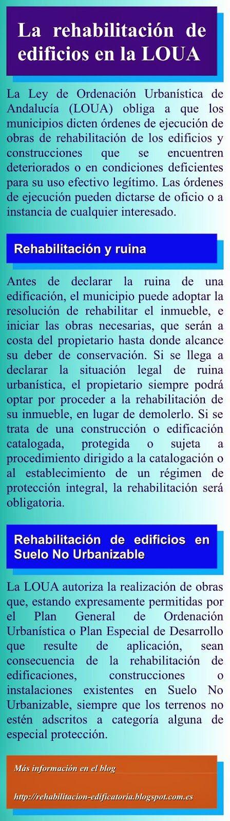 Rehabilitación de edificios: ID02. Rehabilitación de edificios en la legislación andaluza