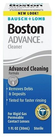 Bausch + Lomb Bausch & Lomb Boston Advance Cleansing Contact Lens Solution - 1 oz.
