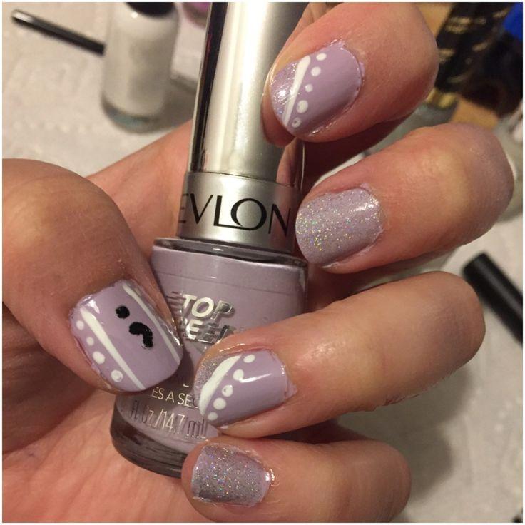 Semicolon project nails