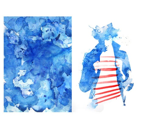 Jean Paul Gaultier - Top Magazine UK - Illustration by ©Luis Tinoco - WWW.LUISTINOCO.COM
