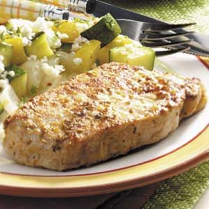 Herbed Pork Chops Recipe - Light and Tasty (7/08) easy and moist