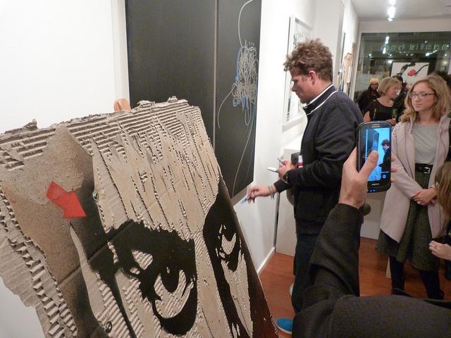 "Jef Aérosol 2012 - The French Art Studio (London) - Group Show ""Paris Street Art"" by Jef Aerosol, via Flickr"