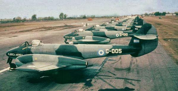 Gloster Meteor Mk4 - Argentine Air Force