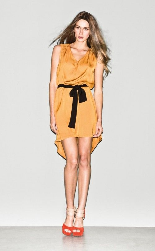 #Dress #Sandals - Spring/Summer 2013 Sisley Woman Collection.