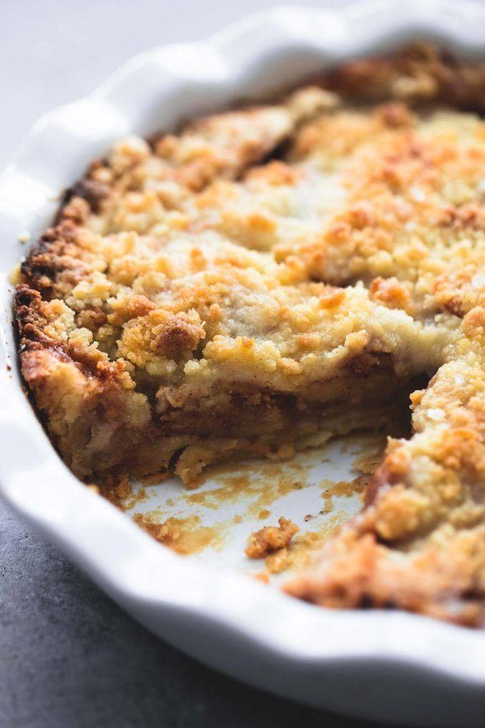 Apple Crumble Pie   lecremedelacrumb.com